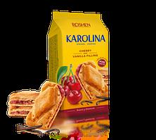 Печенье Roshen Karolina с вишнево-ванильной начинкой 168 г