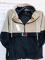 """Вітрівка чоловіча норма EA7,(2цв.)р-ри 48-56 """"KING"""" купити недорого від прямого постачальника"""