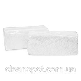Рушники паперові Vскладання 2шар целюлоза 120л/уп GARDEN white 1ящ-21 упак Eco Point