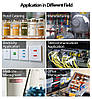 Лента для принтера этикеток Epson LabelWorks LK5TBN Clear Blk/Clear 18/8 (C53S655008), фото 3