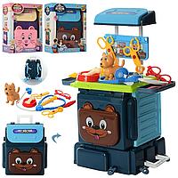 Игровой набор доктор в рюкзаке, детский набор доктора, набор детский для врача