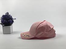 Кепка Бейсболка Жіноча City-A з Квіткою Сакурою Рожева, фото 3