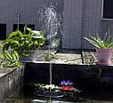 Фонтан садовый на солнечной батарее Water Pump 160мм, фото 8