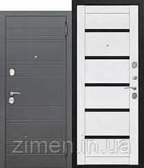 Входная дверь 10,5 см ЧАРЛСТОН Царга БЕЛЫЙ ГЛЯНЕЦ
