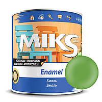 Эмаль салатова ПФ-115 Миks color 0,9 кг.