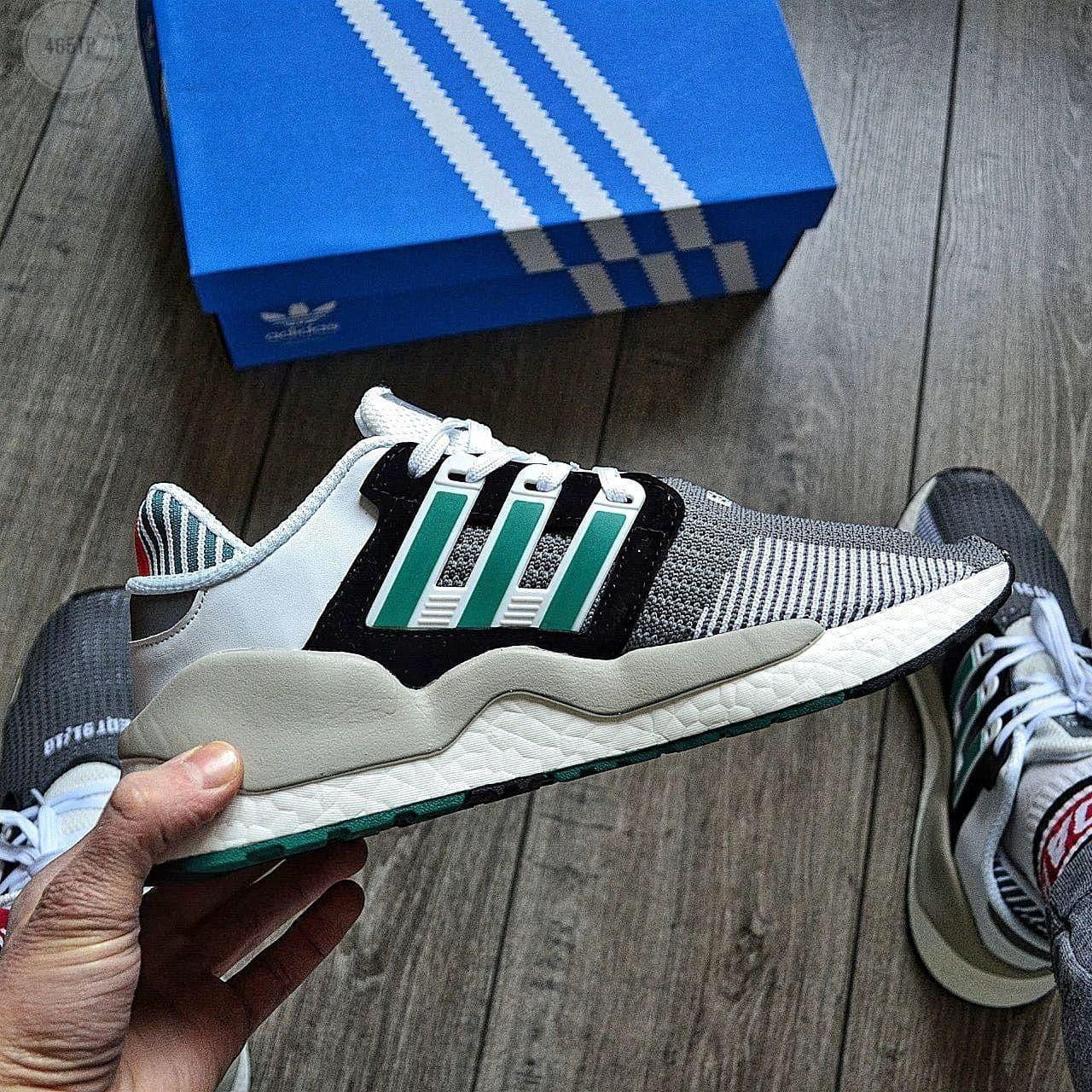 Чоловічі кросівки Adidas EQT SUPPORT (сірі) 465TP текстильна крута весняна взуття