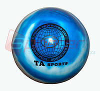 Мяч гимнастический d-19 радуга Т-8