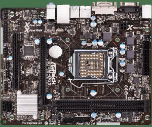 Материнська плата AsRock B75M-DGS (s1155, Intel B75, PCI-Ex16) OEM Гарантия 3 месяца.