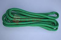 Скакалка гимнастическая зелёная 3м Китай