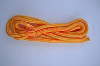 Скакалка гимнастическая жёлтая 3м Китай