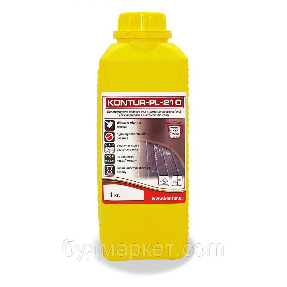 Пластифікатор KONTUR-PL-210 для теплої підлоги, 1 л