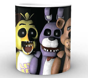Кружки Пять ночей с Фредди Five Nights at Freddys
