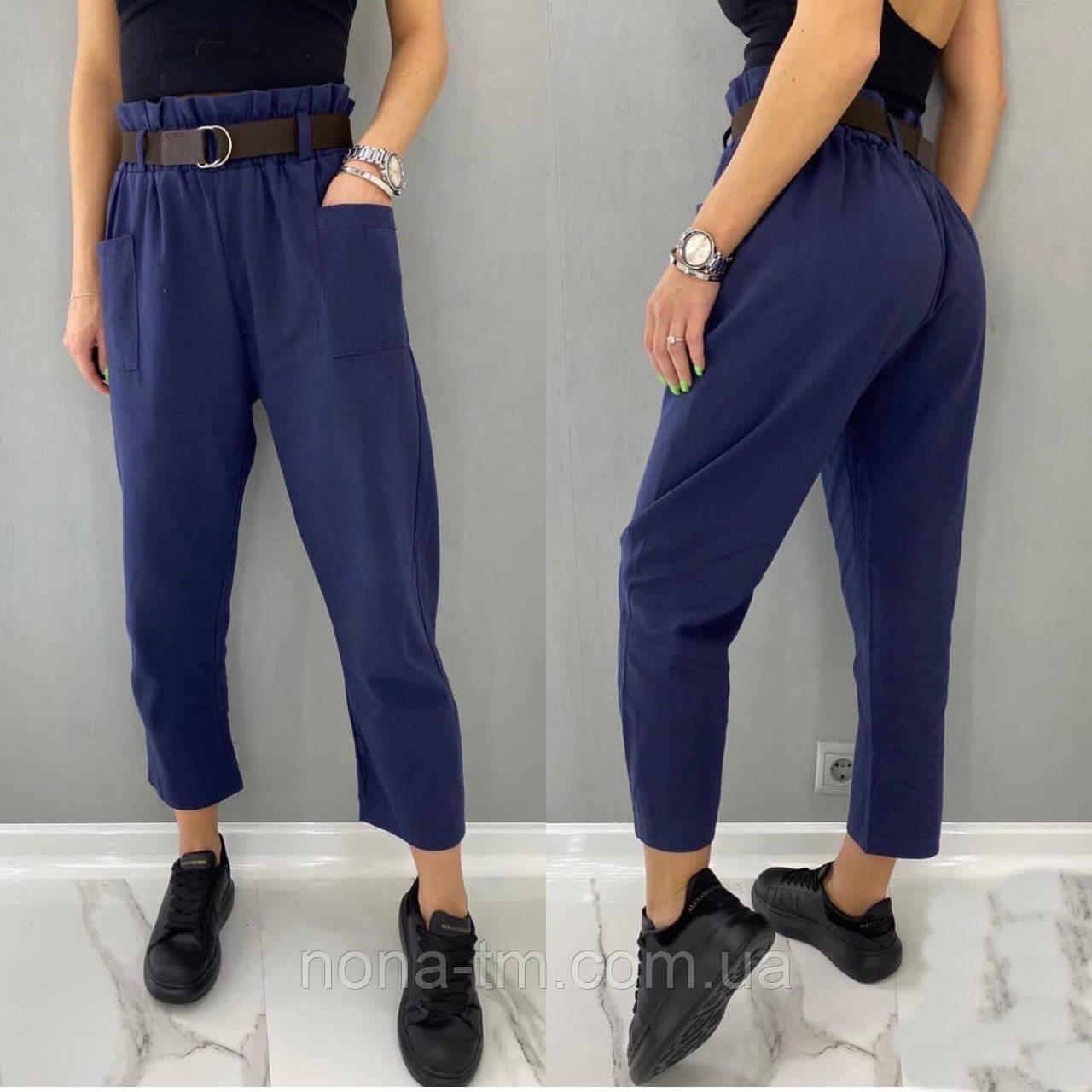 Стильні штани жіночі льняні