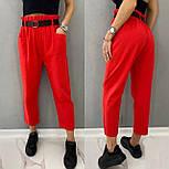 Стильні штани жіночі льняні, фото 3