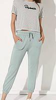 """Спортивні штани жіночі однотонні, р-ри S-L (5кол) """"GEREKLI"""" купити недорого від прямого постачальника"""