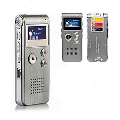 Цифровий диктофон hobbyline з ЖК-екраном, 8 ГБ, MP3-плеєр, диктофон, аудіо рекордер,
