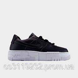 Жіночі кросівки Nike Air Force 1 Pixel Black (чорні)