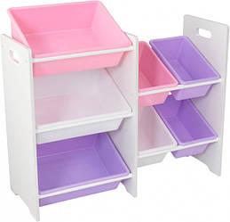 Мебель Для Хранения Kidkraft 15471 (Розовый) – 7 Полок