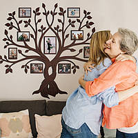 Семейное дерево для фотографий / семьи / фоторамка / картина / композиция / коллаж / подарок