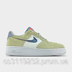Жіночі кросівки Nike Air Force 1 LV8 Pure Platium (бежеві)
