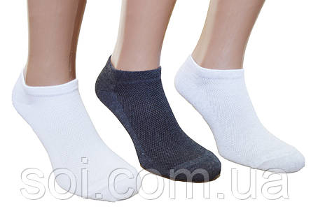 Короткие носки женские следы 23-25 г. (36-40), фото 2