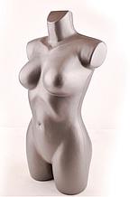 Манекен Венера ровная СЕРЕБРО