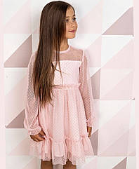 Нарядное детское платье на рост 116-134 см