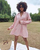 Стильне жіноче розкльошені сукні з довгим рукавом, фото 1