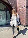 Рубашка женская стильная удлиненная Оверсайз, фото 5