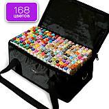 Большой набор маркеров Touch 168 цветов для рисования и скетчинга на спиртовой основе, Видеообзор!, фото 3