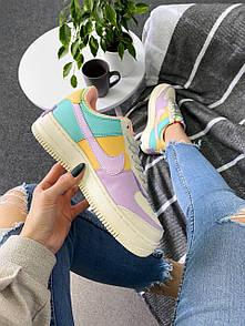 Женские кроссовки Nike Air Force Shadow Pale Ivory