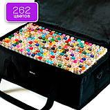 Набір якісних маркерів для художників 262 кольору Touch Smooth для малювання, скетчинга на спиртовій основі, фото 2