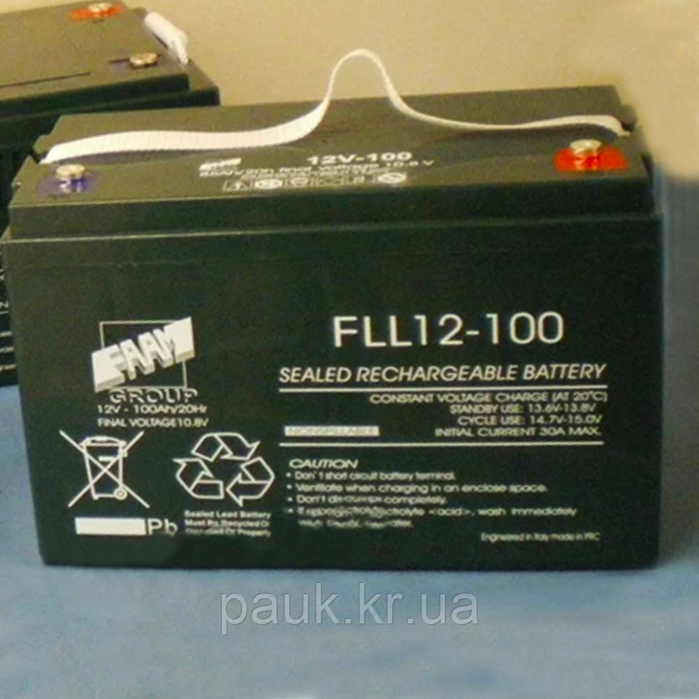 Аккумулятор FAAM FLL 12-150, герметичная стационарная батарея