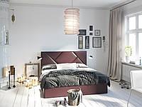 Кровать-подиум Бейлис Sentenzo, мягкая кровать с подъемным механизмом, пр-во Украина