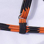 Купальник у тигровий принт з верхом - топом і завищеними плавками (р. S, M, L) 6125754, фото 5