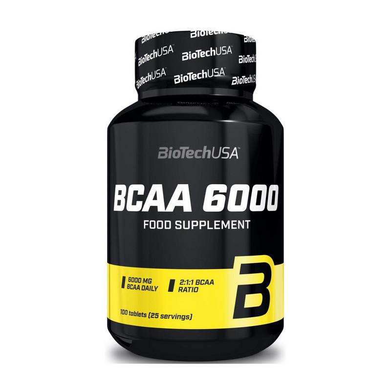 Аминокислота BioTech USA BCAA 6000 100 tabs