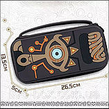 Комплект Мега Deluxe Zelda для Nintendo Switch кейс + накладки + тримач + скло, фото 3