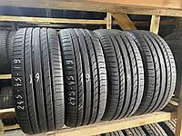 Літні шини 245/45R19 Continental Sport Contact 5 Рік-19 7мм 4шт стан супер!, фото 1