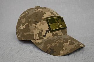 Тактична бейсболка в пікселі (патч прапор України в подарунок)