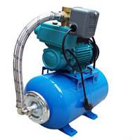 Побутова насосна станція в зборі 750 Вт з гідроакумулятором для подачі води водопостачання будинки, дачі