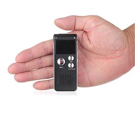 Професійний цифровий диктофон SK012  з голосовою активацією, 8 ГБ, портативний mp3-плеєр,