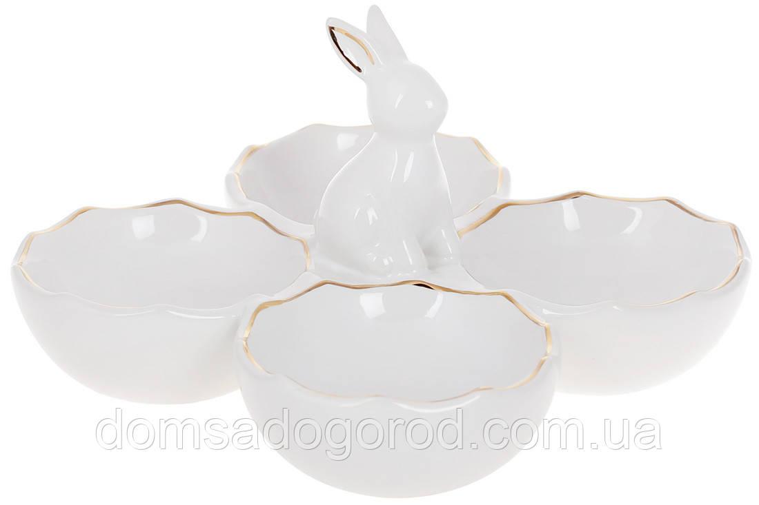 """Подставка для яиц BonaDi """"Кролик"""" 972-834"""