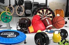 Мячи, батуты, другие товары для спорта