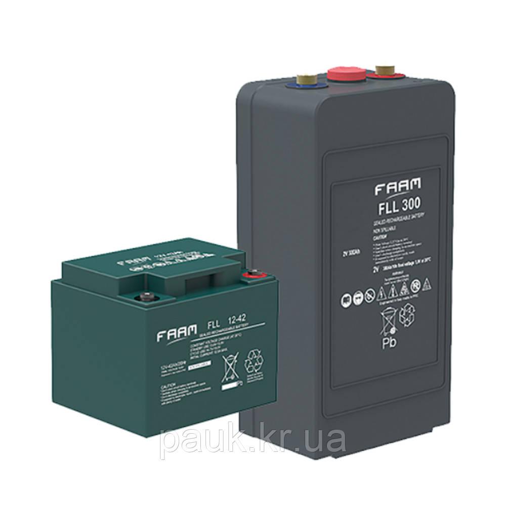 Герметичный аккумулятор AGM FAAM FLL 6-225, свинцово-кислотный аккумулятор