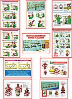 """""""Безпечна експлуатація газорозподільних пунктів"""" (10 плакатів, ф. А3)"""