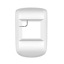 Бездротовий датчик руху та розбиття скла з імунітетом до тварин Ajax CombiProtect black/white, фото 3