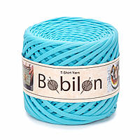 Пряжа трикотажна Bobilon (5-7 мм), колір Бірюзовий