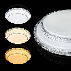 Світильник світлодіодний Biom SMART SML-R22-80/2 3000-6000K 80Вт з д/у New