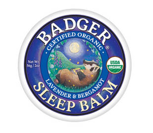 Badger Organic Sleep Balm лаванда, бергамот, розмарин, імбир заспокійливий бальзам для хорошого сну 56 гр