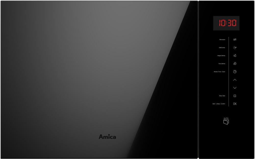 Встраиваемая микроволновая печь Amica Q-type AMMB25E2SGVB